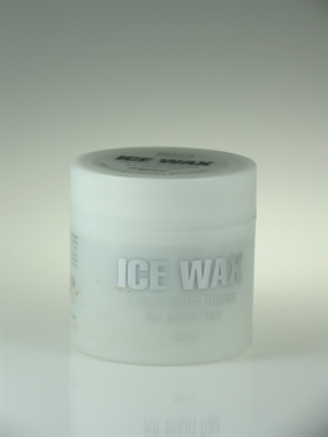 אייס וקס לשיער שקוף ice wax 250ml